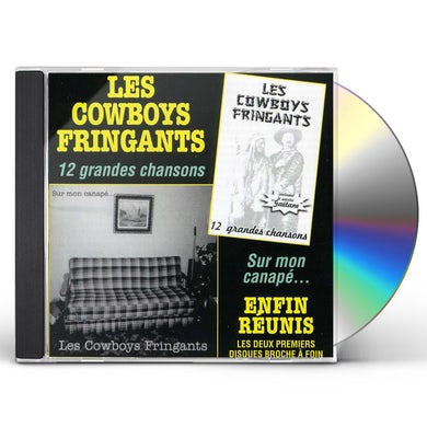 Les Cowboys Fringants 12 GRANDES CHANSONS / ENFIN REUNIS CD