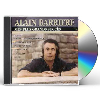 Alain Barriere MES PLUS GRANDS CD
