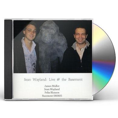 Sean Wayland LIVE AT BASEMENT CD