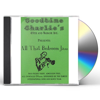 Christopher Wilson ALL THAT BEDROOM JAZZ CD