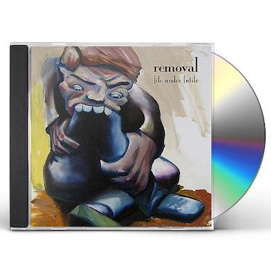 Removal FILE UNDER FUTILE CD