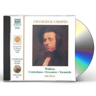 Chopin WALTZES CD