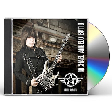 Michael Angelo Batio SHRED FORCE 1 (THE ESSENTIAL MAB) CD