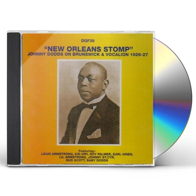 Johnny Dodds NEW ORLEANS STOMP: 1926-27 CD