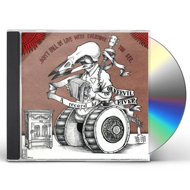 Okkervil River DON'T FALL IN LOVE WITH EVERYONE YOU SEE CD
