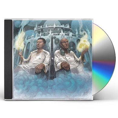 Blu & Nottz GODS IN THE SPIRIT TITANS IN THE FLESH CD
