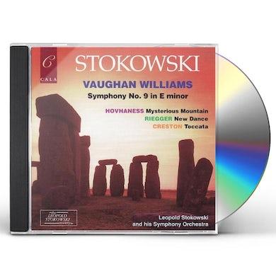Leopold Stokowski SYM 9: VAUGHAN WILLIAMS CD