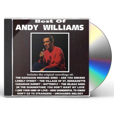 Andy Williams BEST OF CD