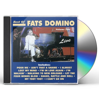 Fats Domino BEST OF LIVE 2 CD