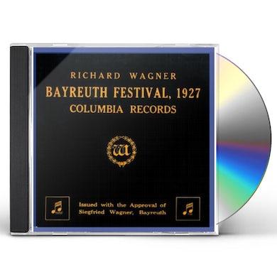 Richard Wagner BAYREUTH FESTIVAL 1927 CD