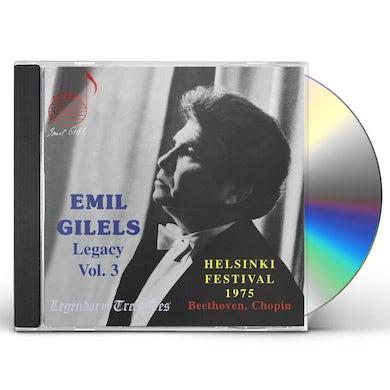 Emil Gilels LEGACY 3 CD