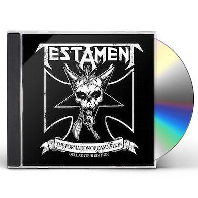 Testament FORMATION OF DAMNATION CD