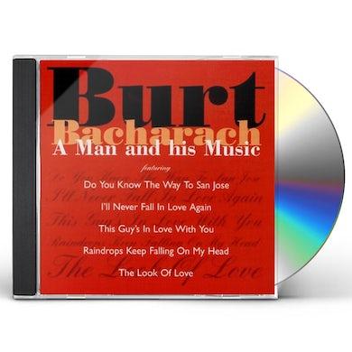 Burt Bacharach MAN & HIS MUSIC CD
