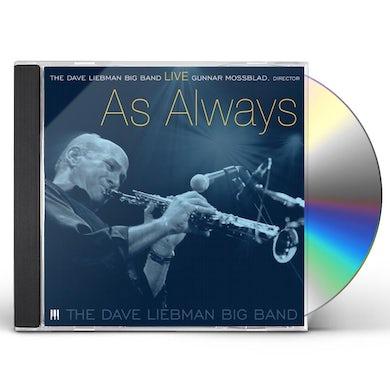 David Liebman LIVE: AS ALWAYS CD