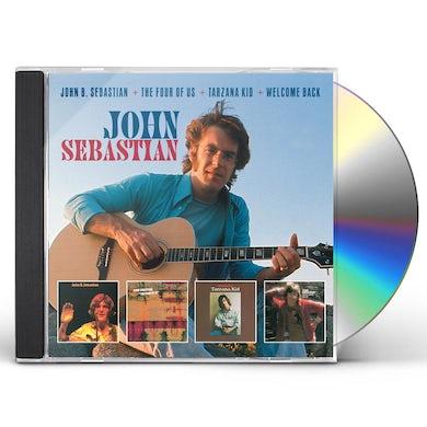 John Sebastian JOHN B. SEBASTIAN & FOUR OF US & TARZANA KID & WEL CD