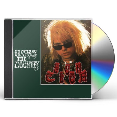 The Gun Club DESTROY THE COUNTRY CD