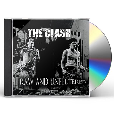 The Clash RAW & UNFILTERED CD