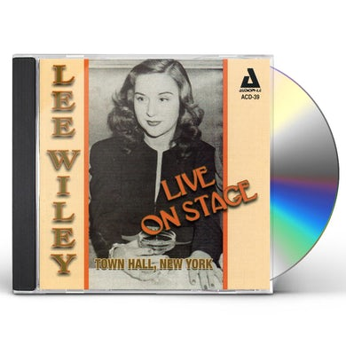 Lee Wiley LIVE ON STAGE TOWN HALL NEW YORK CD