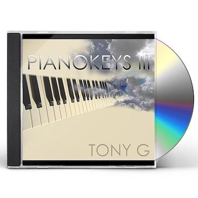 Tony G PIANOKEYS III CD