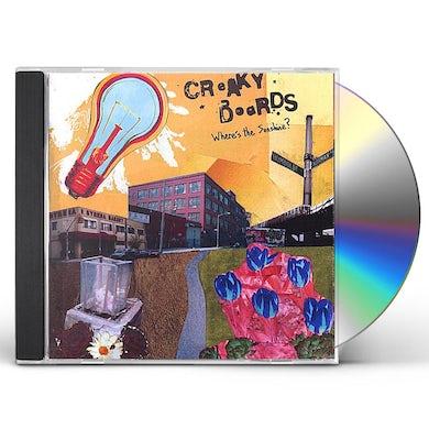 Creaky Boards WHERE'S THE SUNSHINE? CD