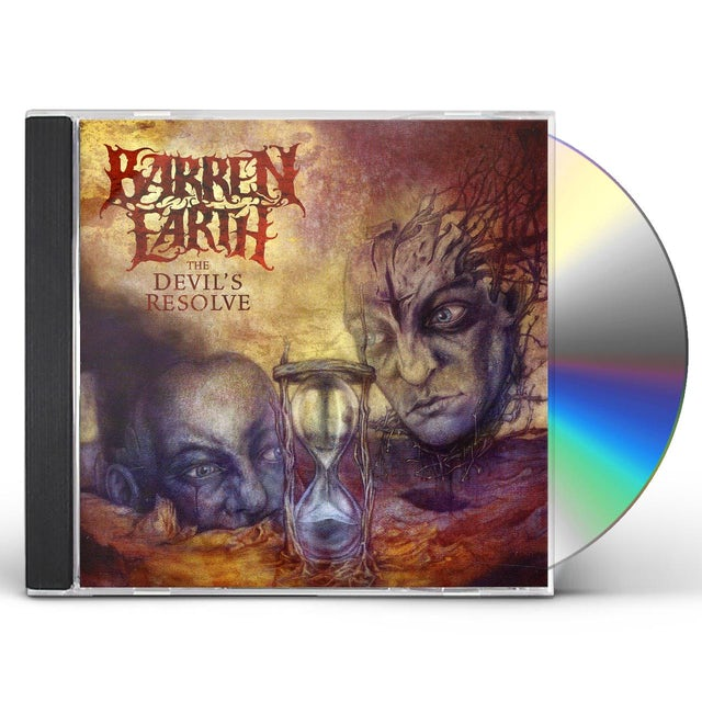 Barren Earth DEVIL'S RESOLVE CD