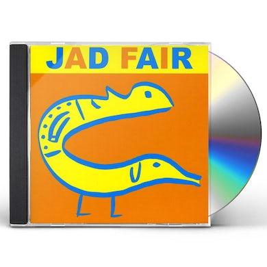 Jad Fair HIS NAME ITSELF IS MUSIC CD