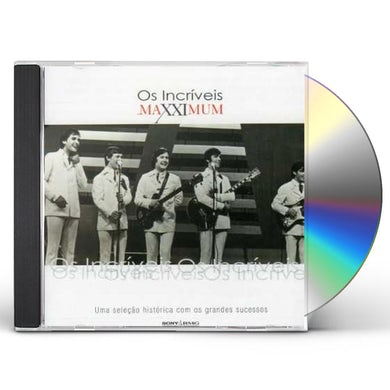 Os Incriveis MAXXIMUM CD