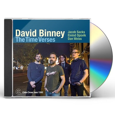 David Binney TIME VERSES CD
