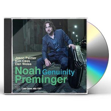 Noah Preminger GENUINITY CD