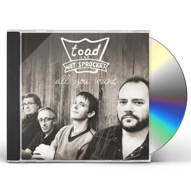 Toad The Wet Sprocket ALL YOU WANT - BEST OF CD