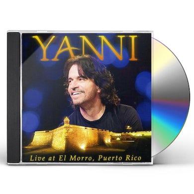 YANNI: LIVE IN EL MORRO PUERTO RICO CD