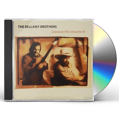 Bellamy Brothers VOL. 3-GREATEST HITS CD