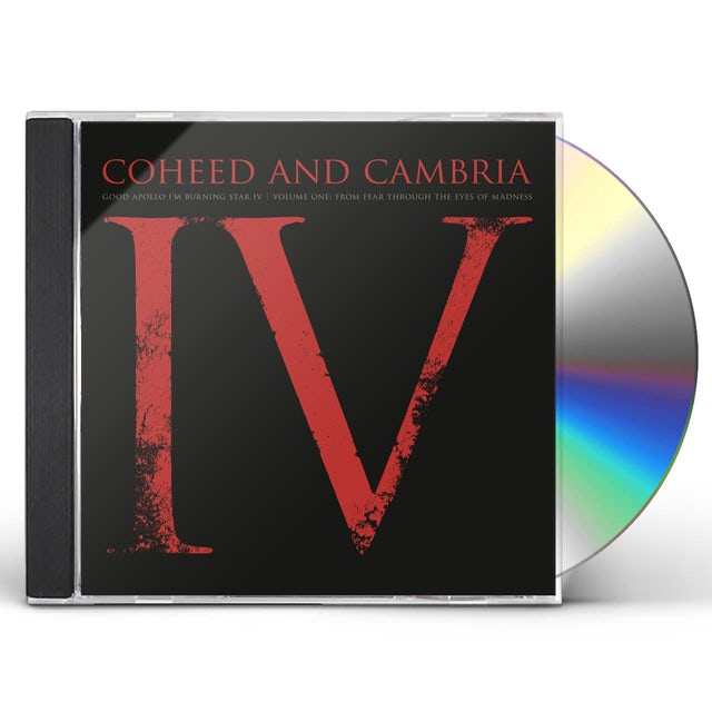Coheed and Cambria GOOD APOLLO I'M BURNING STAR IV VOLUME ONE CD