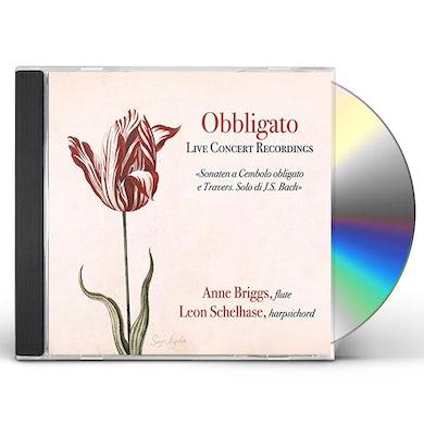 Anne Briggs OBBLIGATO (LIVE CONCERT RECORDINGS) CD
