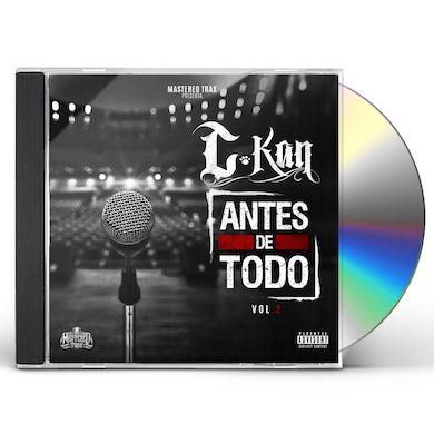 C-Kan ANTES DE TODO VOL. 2 CD