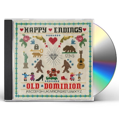 Old Dominion HAPPY ENDINGS CD
