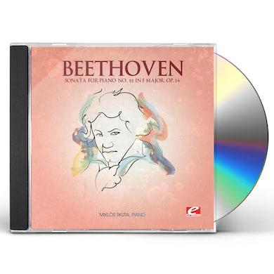 Ludwig Van Beethoven SONATA FOR PIANO 22 IN F MAJOR CD