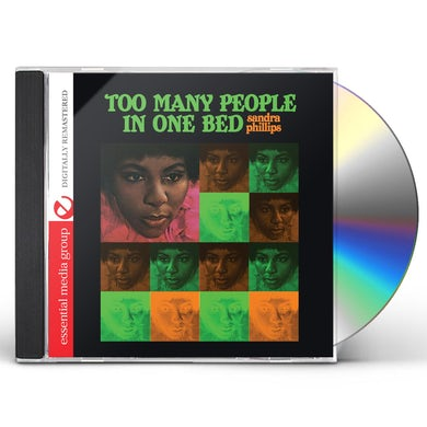 Sandra Phillips TOO MANY PEOPLE IN ONE BED CD