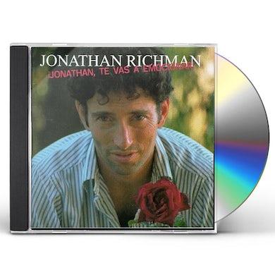 Jonathan Richman JONATHAN TE VAS A EMOCIONAR CD