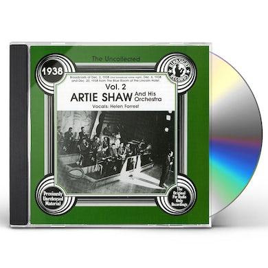 Artie Shaw 1938 VOL 2 CD