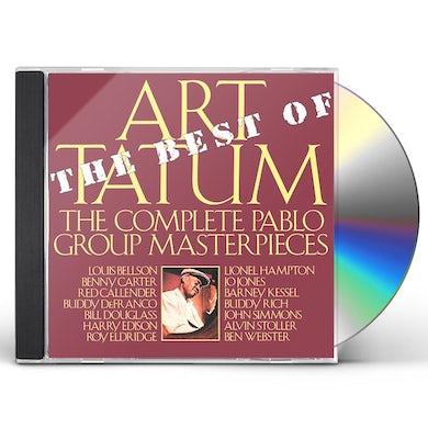 Art Tatum BEST OF THE PABLO GROUP MASTERPIECES CD