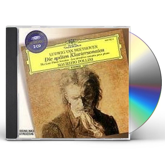 Beethoven / Pollini LATE PIANO SONATAS (28-32) CD