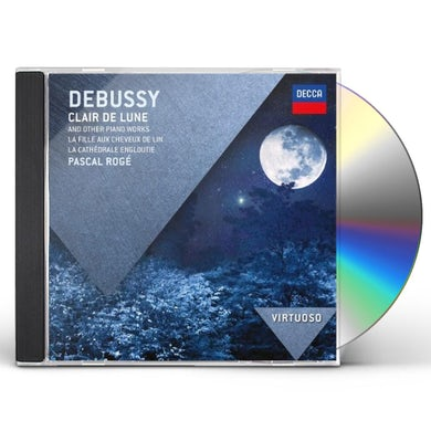 Debussy VIRTUOSO: CLAIR DE LUNE CD