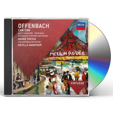 Offenbach VIRTUOSO: CAN CAN GAITE PARISIENNE CD