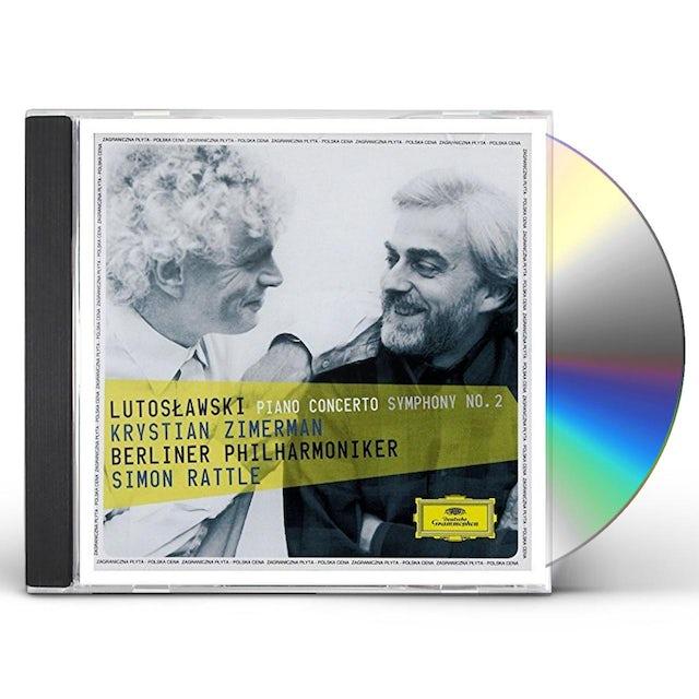 Krystian Zimerman LUTOSLAWSKI: PIANO CONCERTO/SYMPHONY 2 CD
