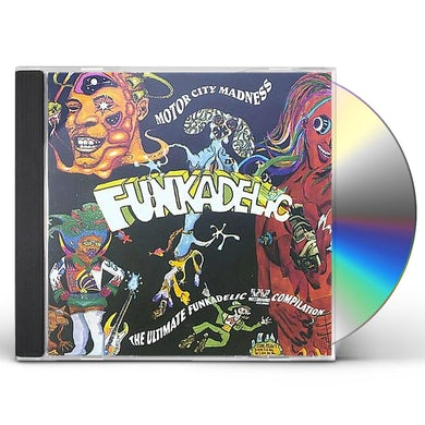 Funkadelic MOTOR CITY MADNESS: THE ULTIMATE COLLECTION CD