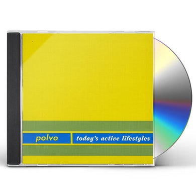 Polvo TODAY'S ACTIVE LIFESTYLES CD
