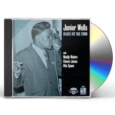 Junior Wells BLUES HIT BIG TOWN CD