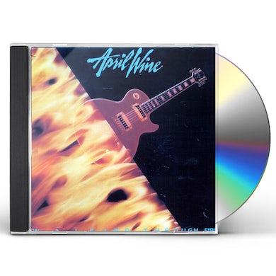 April Wine WALKING THROUGH FIRE CD