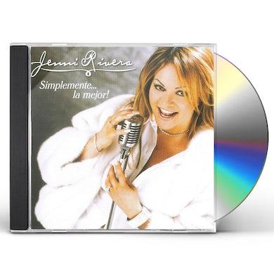 Jenni Rivera SIMPLEMENTE LA MEJOR CD